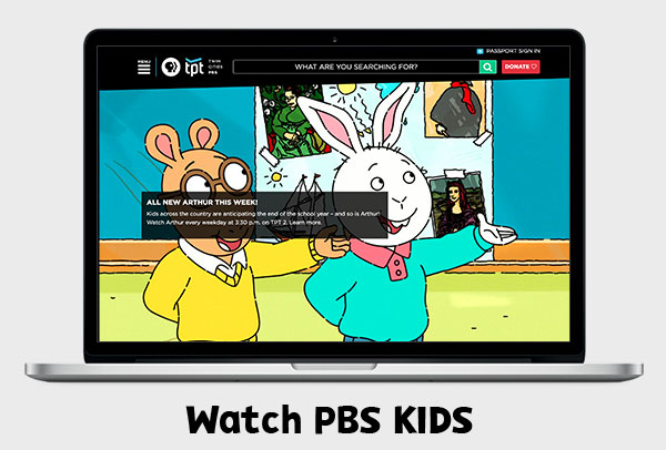 Stream PBS Kids Online