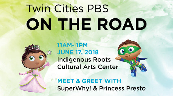 Twin Cities PBS on the Road June 17 11 am - 1 pm