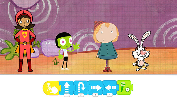 PBS Characters on Scratch Jr